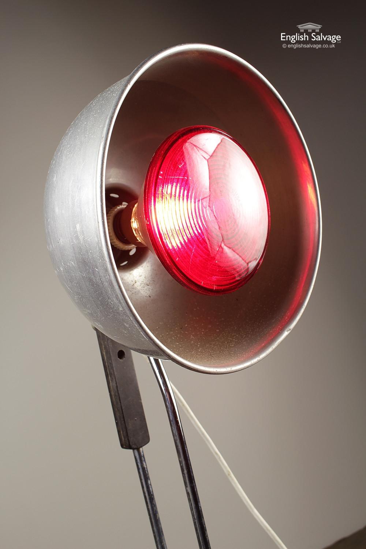 Tall Vintage Duo Ray Adjustable Floor Lamp