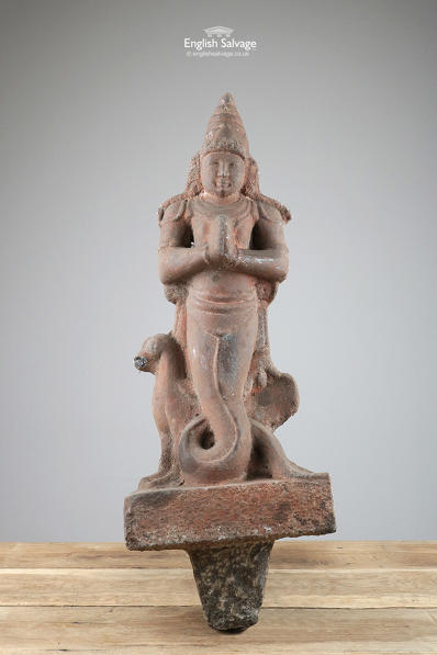 Tamil Nadu Fishtail God C19th Statue