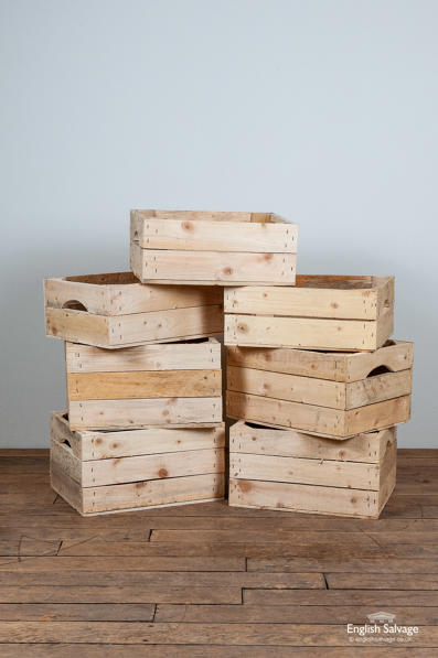 Useful storage crates / boxes with handles