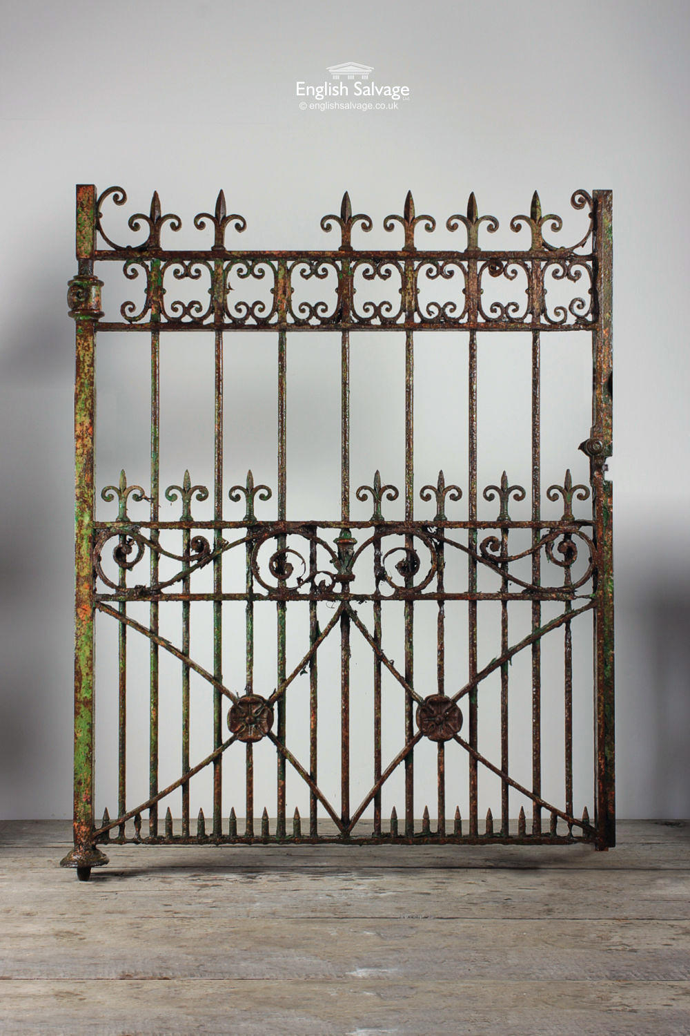 Victorian Cast And Wrought Drive Gates