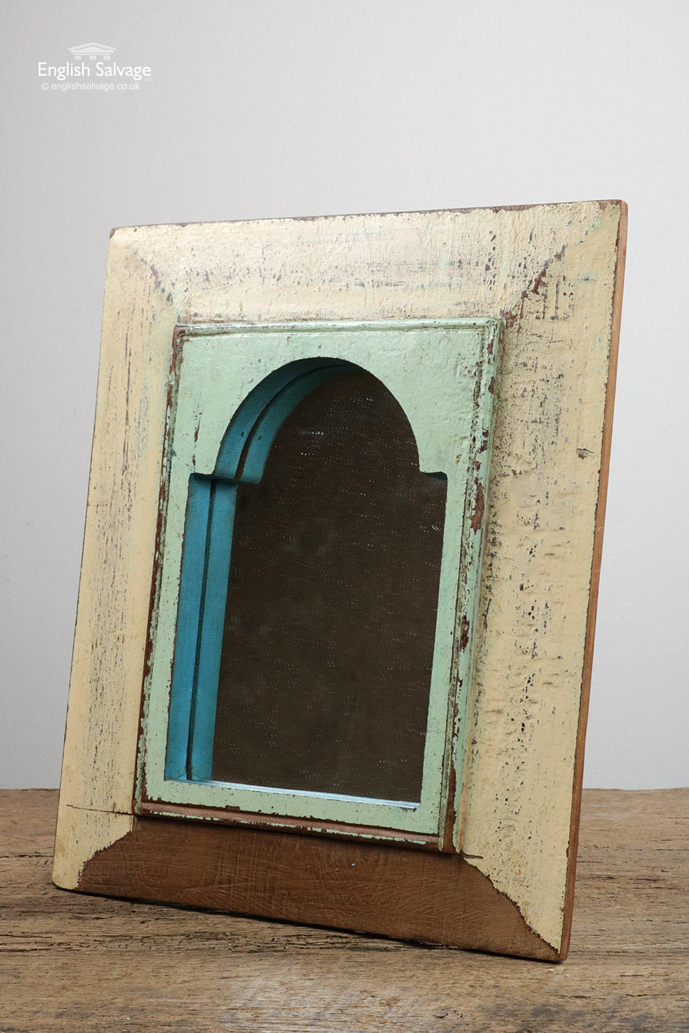 Vintage Distressed Wooden Mirrors