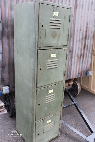 Vintage Four Drawer / Locker Cabinet