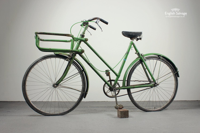 Vintage Green Butchers Bike