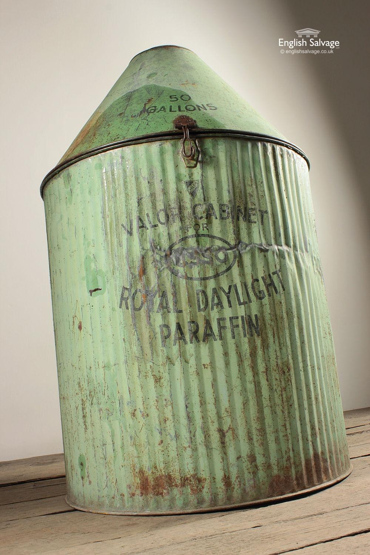Vintage Green Valor Cabinet For Esso Paraffin