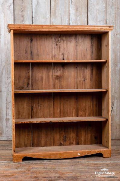 low priced 713ab 9c86d Vintage pine bookcase / shelf unit