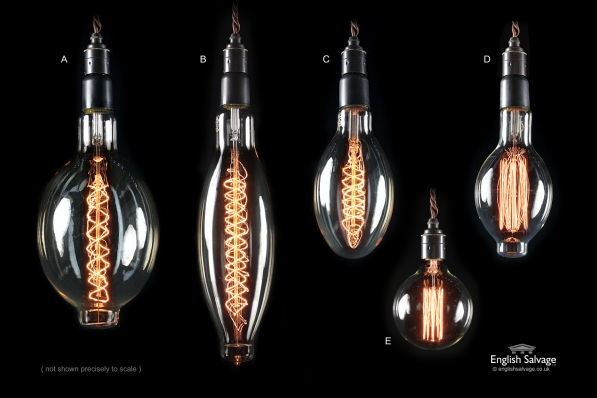 Vintage Style Filament Light Bulbs