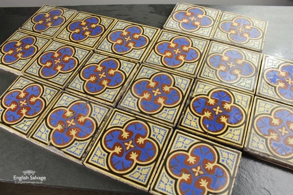 W Godwin Lugwardine Hereford Encaustic Tiles